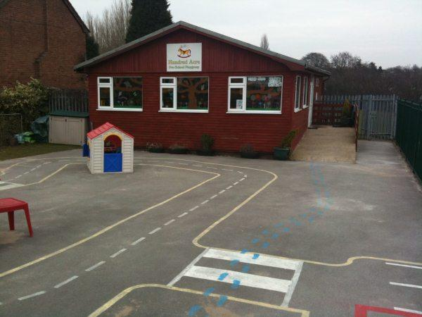 Hundred Acre Pre-school Playgroup. Goodwood Drive, Streetly in Sutton Coldfield near Birmingham and Walsall, west midlands