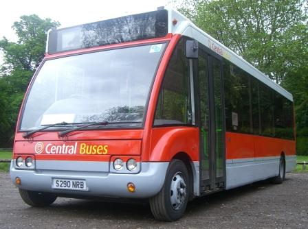 The Central Bus service links