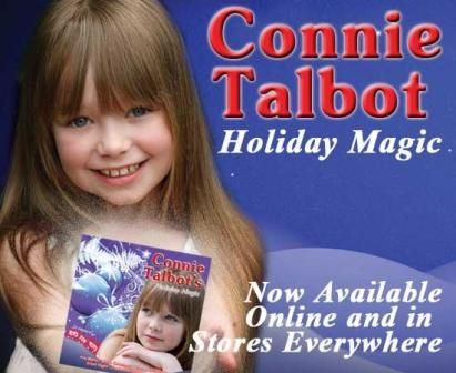 Singing sensation Connie Talbot new album