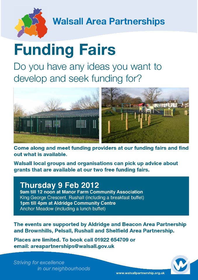FREE FUNDING ADVICE & WORKSHOPS for community groups and  organisations