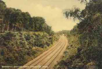 Streetly railway line - copyright Streetly website