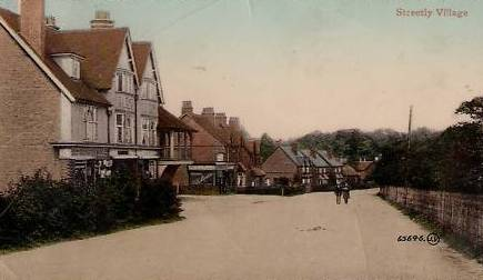 Streetly Village in 1931, in Sutton Coldfield in the west midlands, copyright Streetly website